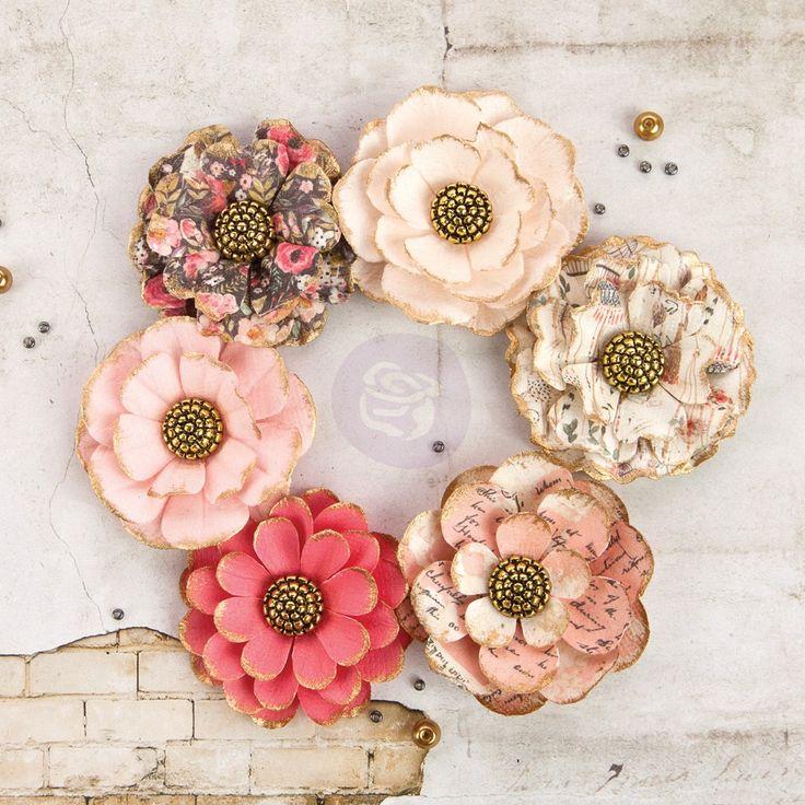 Prima paper flower ukrandiffusion 246 best beautiful prima paper flowers images on pinterest paper mightylinksfo