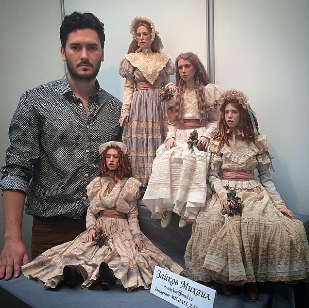 Art dolls of Michael Zajkov -Blog Graphiste / Sculptures, photos, Ver & Vie….