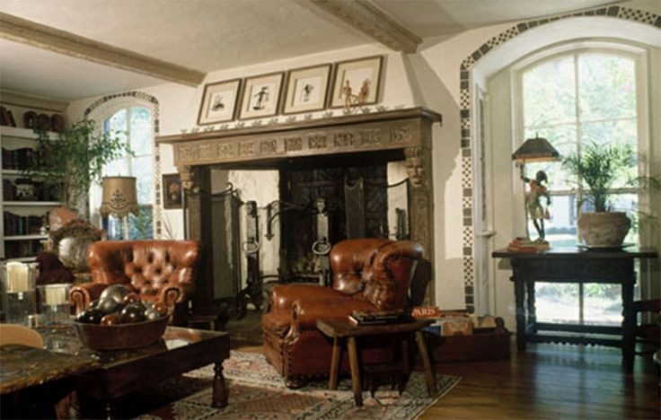 tudor style home interior design ideas timeless tufted decor pint. Black Bedroom Furniture Sets. Home Design Ideas