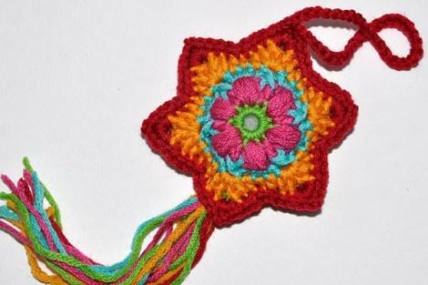 """December 14 * Crochet Star """"Baby Flower"""""""