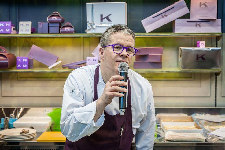 Ernst Knam, testimonial ISA  #ISA #icecream #gelato #pastry #foodandbeverage #Sigep #Rimini #Italy #Madeinitaly #displaycabinet #bar #design  #ernstknam #knam