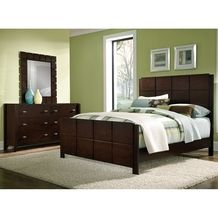 Mosaic All-Wood Queen Bed + Dresser + Mirror by Factory Outlet from Value City Furniture $499.98 (17% Off) -