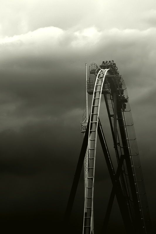 """Pi (Unresolved) on Flickr entitled """"Imminent Plunge"""" -La Ronde, Montreal - an itinerant poet"""