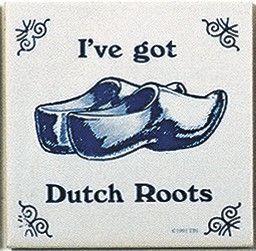 Dutch Culture Magnetic Tile (Dutch Roots)