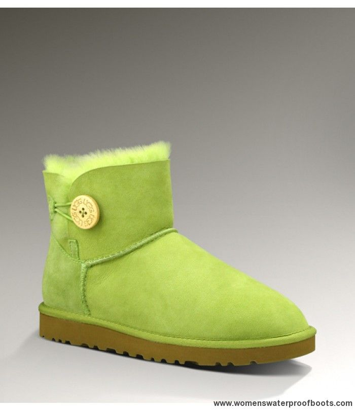 http://www.womenswaterproofboots.com/womens-ugg-boots/ugg-bailey-button/ugg-bailey-button-mini-3352-green-womens-boots