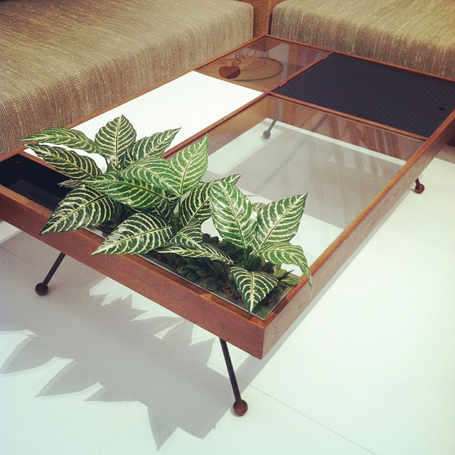 Coffee Table With Planter Furniture Pinterest Home