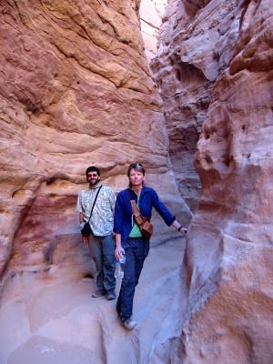 The Adventures of the Hikemasters: Colored Canyon, Sinai Peninsula, Egypt