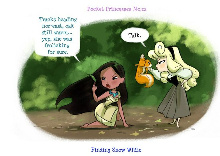 Pocket Princesses: Searching for Snow White