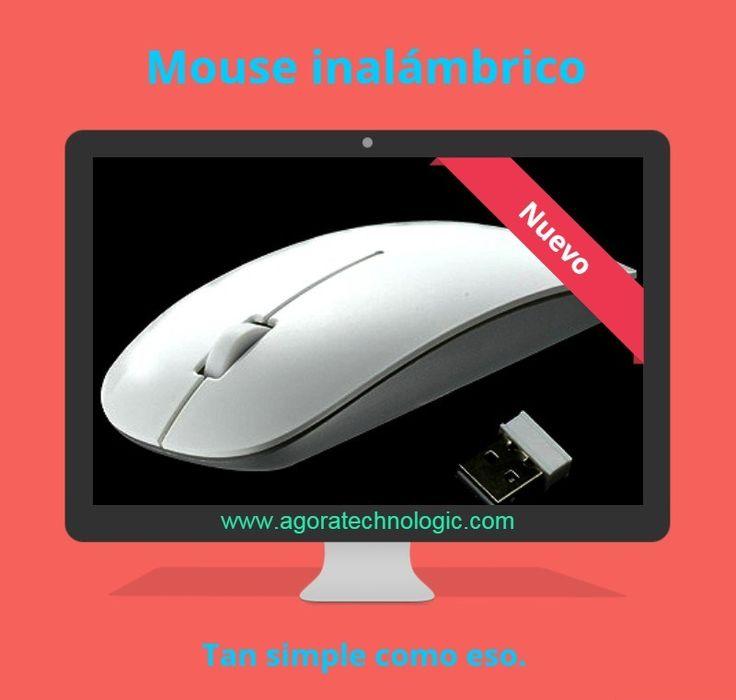 Mouse inalámbrico. Conexión vía bluetooth.  www.agoratechnologic.com