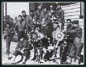 Navajo code talkers took part in every assault the U.S. Marines conducted in the Pacific from 1942 to 1945. They served in all six Marine divisions, Marine Raider battalions, and Marine parachute units. Other Native American code talkers were also deployed including Cherokee, Choctaw, Lakota Meskwaki, and Comanche soldiers. Soldiers of Basque ancestry were also used for code talking by U.S. Marines in areas where other Basque speakers were not expected to be operating.