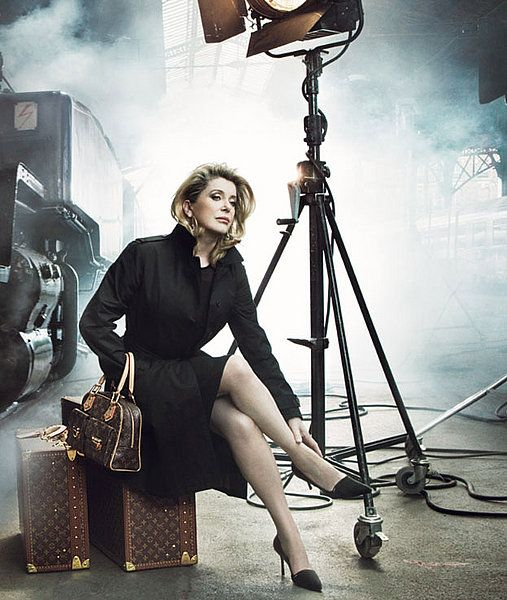 Catherine Deneuve by Annie Leibovitz