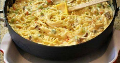 Chicken Spaghetti Casserole 8 Smartpoints - weight watchers recipes