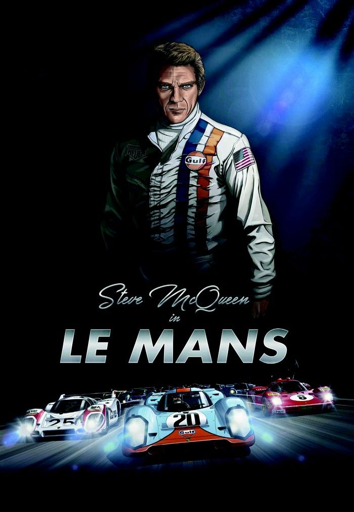 29 best steve mcqueen racing images on pinterest steve mcqueen le mans film posters and movie. Black Bedroom Furniture Sets. Home Design Ideas