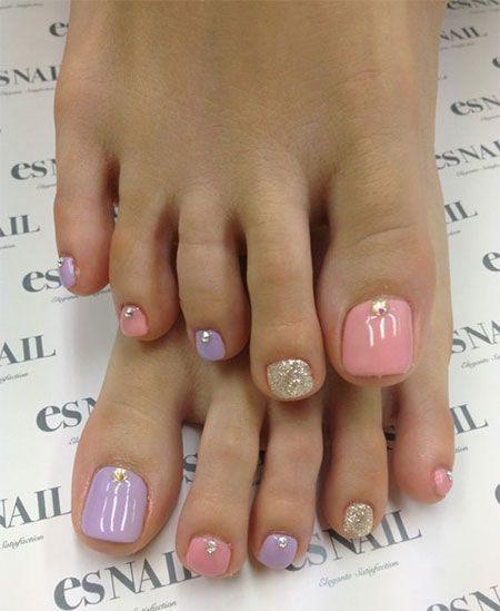 Spring Toe Nail Art Designs                                                                                                                                                     More