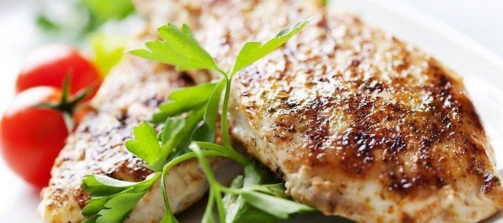 Chicken with honey and mustard