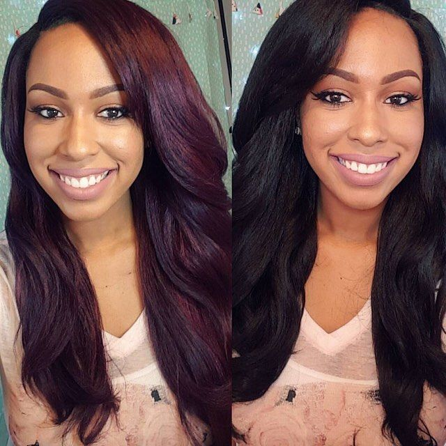 Long Voluminous Hair || IG: @ifancycupcakes || Outre Dominican Blowout Relaxed