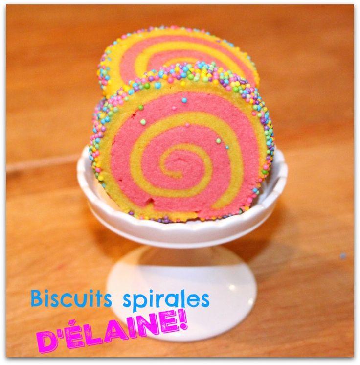 La version Pâques des magnifiques biscuits spirals.