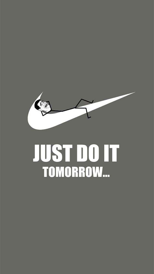 Lol # lazy # nike #justdoit