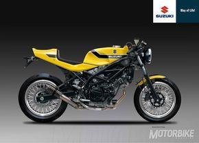 Suzuki SV650 CR Yellow Weapon