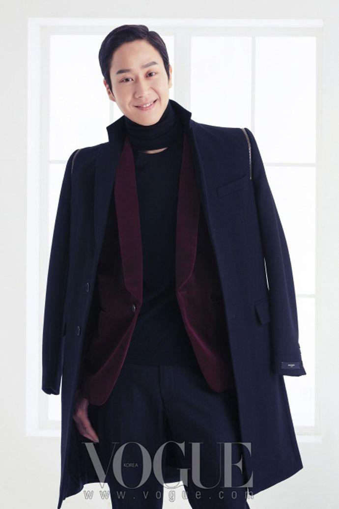Jung Woo - Vogue Magazine December Issue '13