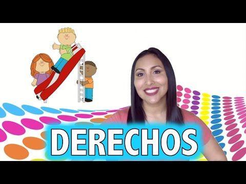 Derechos del Niño (canción) - Canta Maestra - YouTube