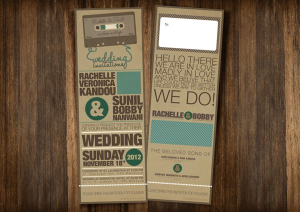 Konsep Undangan Pernikahan Indonesia - Wedding Invitation 4