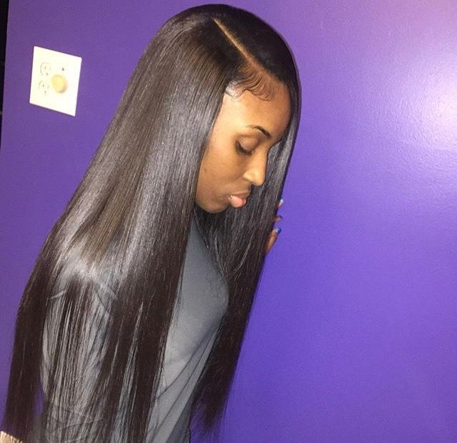 Sew In Hairstyles With Straight Hair Www Imgkid Com