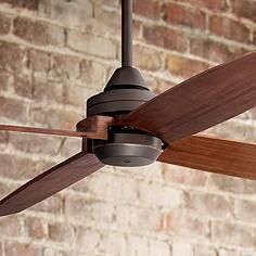 "$289 52"" Casa Vieja® Impel ™ Bronze Damp Ceiling Fan"