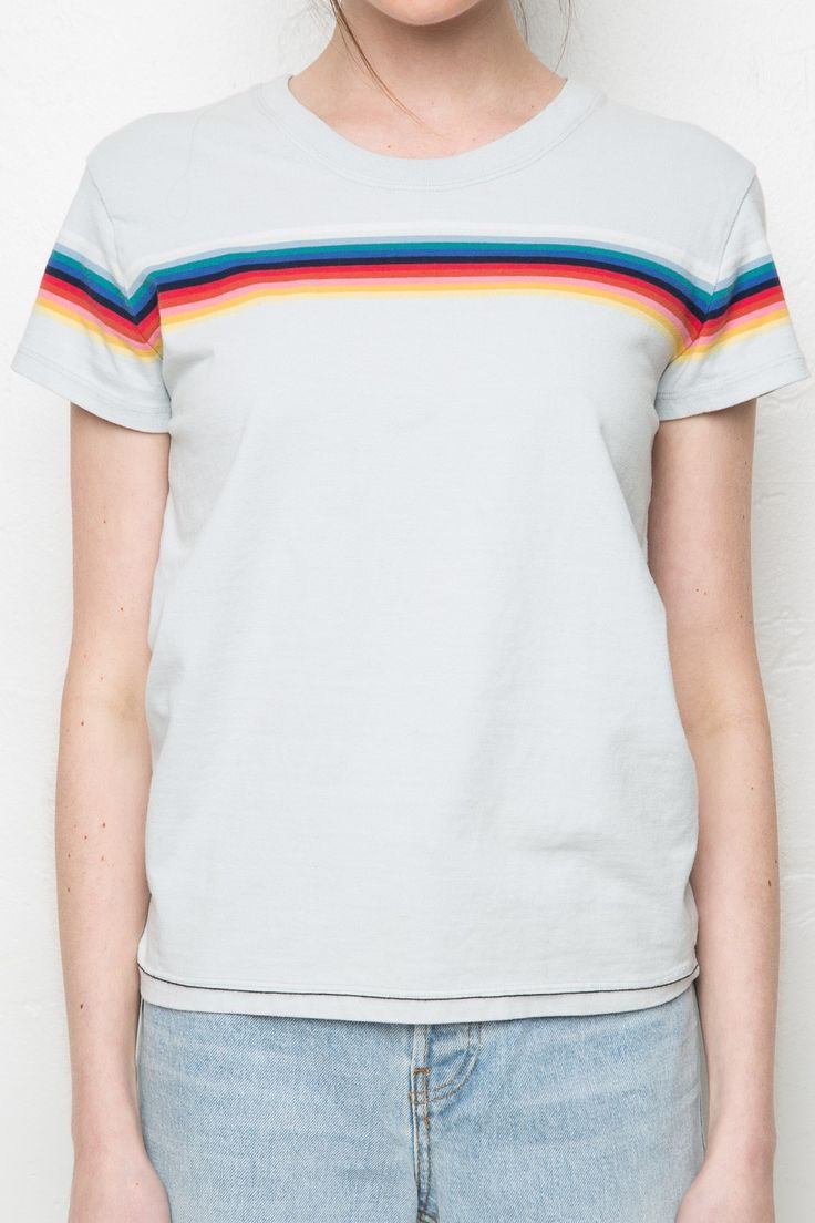 Brandy melville brighton rainbow tee tees tops for Brighton t shirt printing