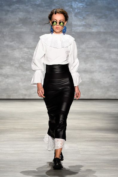 Dorin Negrau - Runway - Mercedes-Benz Fashion Week Spring 2015