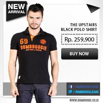 Untuk acara semi formal, polo shirt bisa juga jadi pilihan. Yuk ke online shop kami di www.bombboogie.co.id