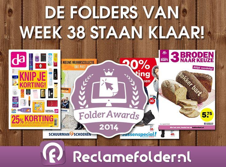 De folders van week 38 staan klaar! Welke online #folder van aankomende week is jouw favoriet? Geef jouw stem via www.folderawards.nl en maak kans op een iPad mini. Fijne zondag! #winactie #win