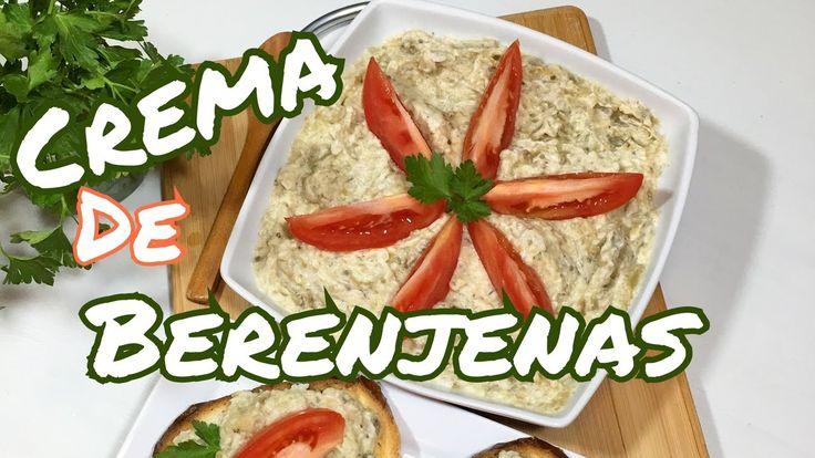 Ensaladilla de berenjenas con mayonesa vegana - YouTube