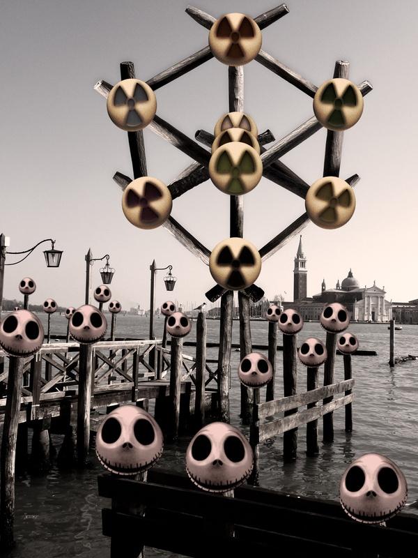 Nightmare After Carnival. Riva degli Schiavoni, Venice (Italy)