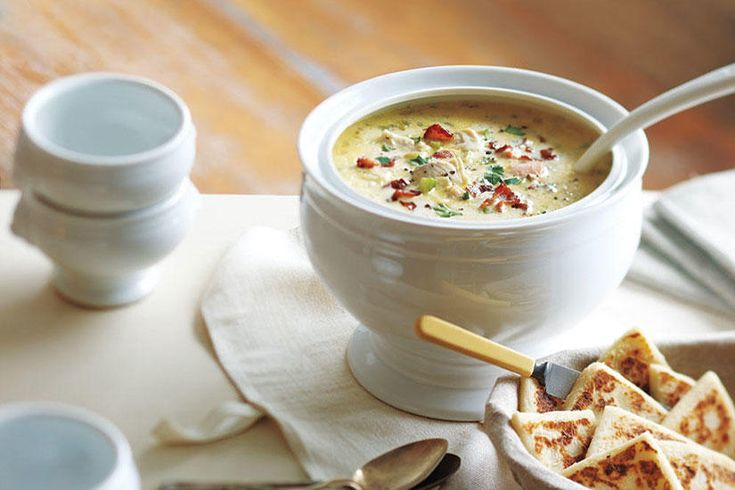 Michael Smith's Favourite Maritime Seafood Chowder—Michael Smith, P.E.I.'s culinary ambassador, shared his favourite chowder recipe with us. Made with easy to find ingredients and fresh Maritime seafood, it's sure to become a favourite in your home too. The chowder can be made a day or two in advance and reheated to serve. In fact, the chowder actually benefits from a night in the refrigerator: The extra time allows the flavours to really come together.
