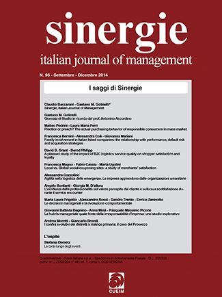 La coda lunga degli eventi. Un mio articolo in Sinergie - italian journal of management (http://blog.stefaniademetz.com/2015/01/20/la-coda-lunga-degli-eventi/)
