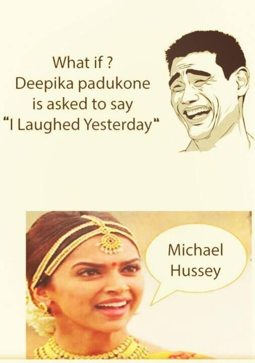 Accent as in Chennai Express...