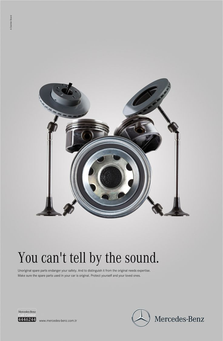 Imperceptible Unoriginal Part Ads : Mercedes-Benz Call Center campaign
