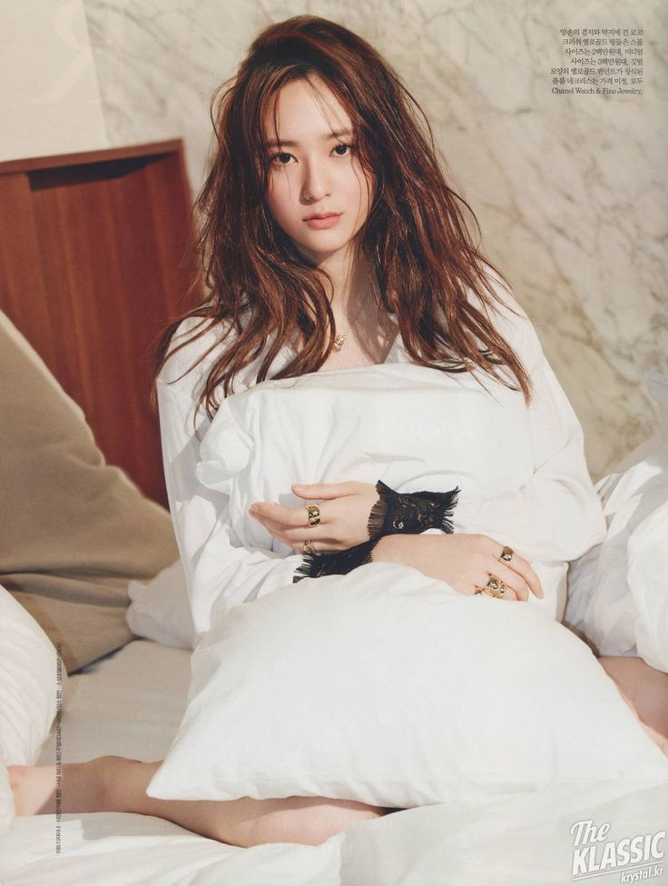 f(x) Krystal - Elle Magazine June Issue '15