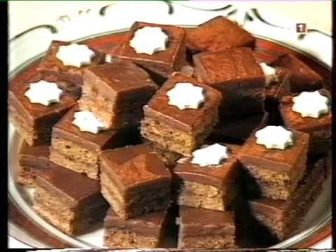 Karácsonyi sütemények  Nosztalgikus híres cukrászmester által karácsonyi...