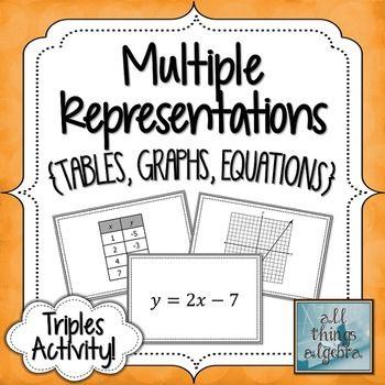math worksheet : 100 best multiple representations of linear relationships images  : Multiple Representations Of Functions Worksheet