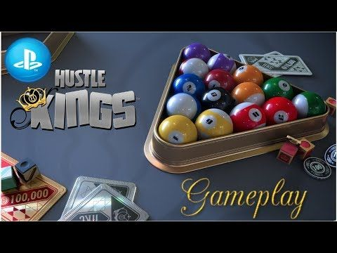 Hustle Kings Ps4 - gameplay - Jacobo García - Interfaz coleccionista - YouTube