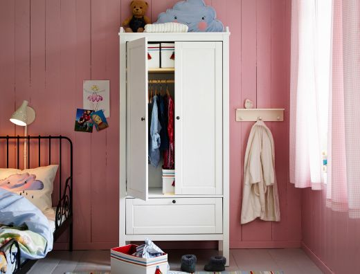 ikea childrens bedroom ideas. A pink kids  bedroom with SUNDVIK wardrobe in white and PYSSLING storage boxes Best 25 Ikea ideas on Pinterest Girls