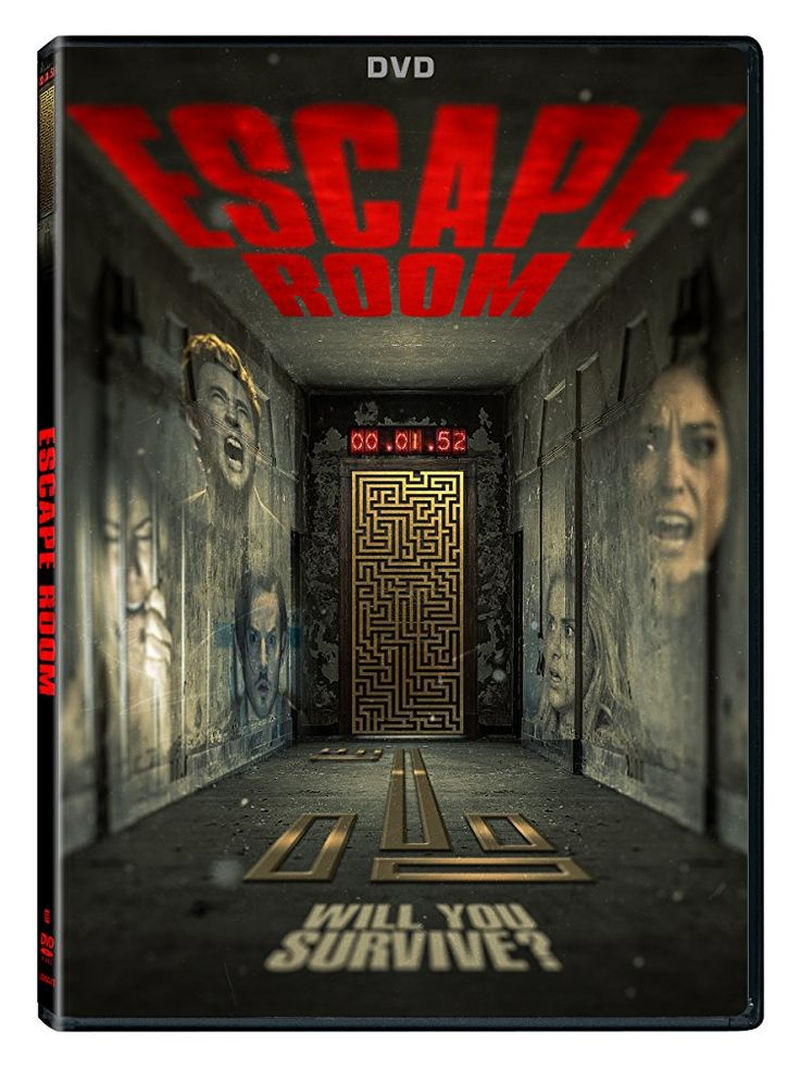 This Week On Dvd Digital Hd And On Demand From Director Will Wernick And Lionsgate Is A Thrill In Tight Spaces A Escape Room Escape Room Online Horror Posters