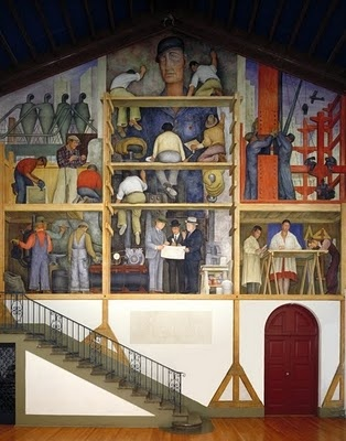 1000 images about federal arts project on pinterest for Diego rivera mural in san francisco