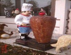 Dönerci Cook Statue