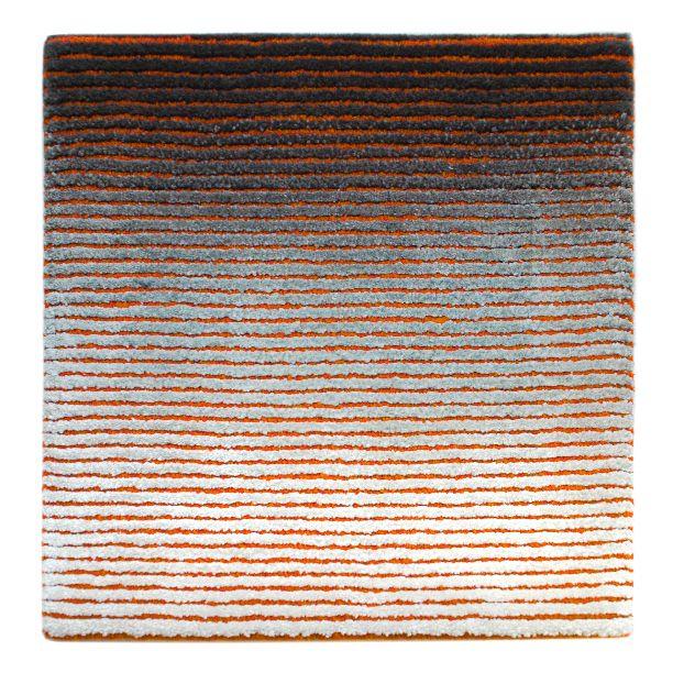 Neva Fade Tangerine Sample #tsar #bespoke #carpets #rugs #interiordesign #interiors #custom #handmade #wool #luxury #luxuryhouse #contemporarydesign #carpet #custommade