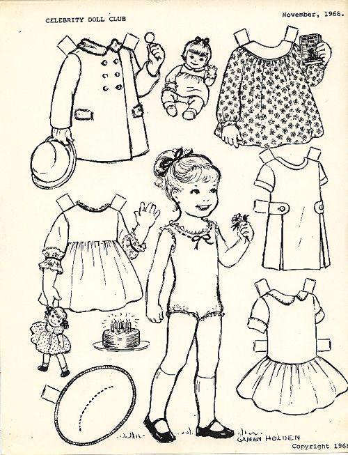 9 Best Paper Dolls Images On Pinterest Vintage Paper Dolls Paper