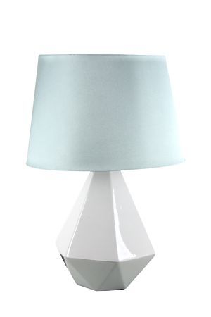 Our colour block faceted lamp set will look beautiful in any bedroom mr price home