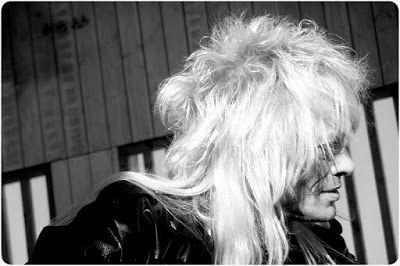 Black and white photography: Michael Monroe at Hernesaaren ranta